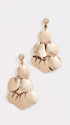 Kate Spade Gold Standard Statement Earrings