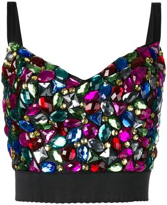 Dolce & Gabbana embellished corset-style top
