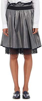 Kolor WOMEN'S PEEKABOO-HEM PLEATED SKIRT