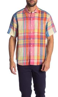 Tommy Bahama Plaid Short Sleeve Shirt