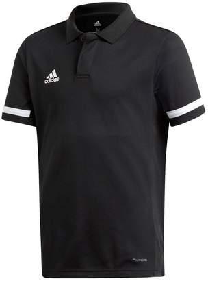 adidas Girls Black Training Polo - Black