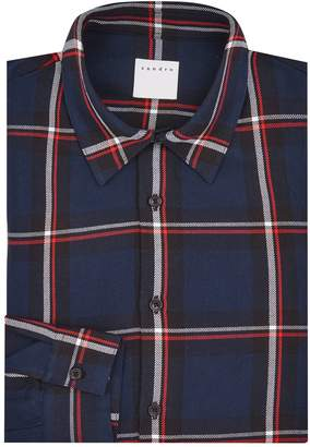 Sandro Check Shirt