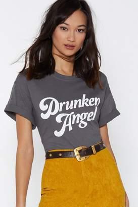 Nasty Gal Drunken Angel Tee