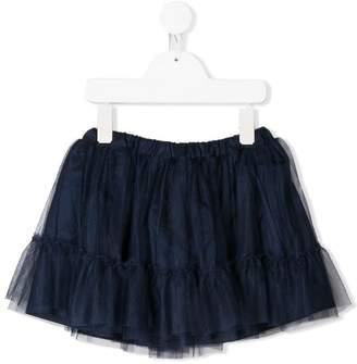 Miss Blumarine mesh overlay tutu skirt