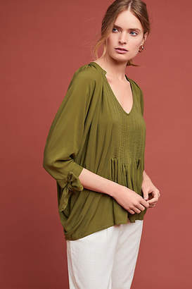 Gillia Clothing Audrey Pintucked Tunic