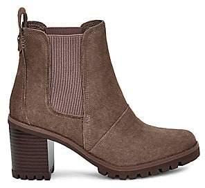 UGG Women's Hazel Waterproof Suede Ankle Boots