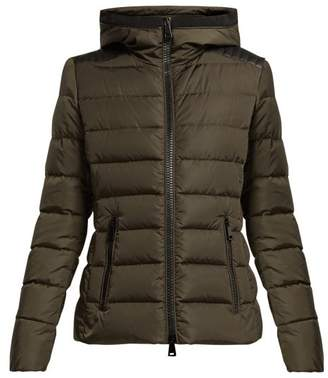 Moncler Tetras Quilted Down Jacket - Womens - Khaki
