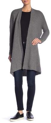 Solutions Ottoman Ribbed Long Sleeve Cardigan