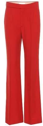Chloé Wide-leg crêpe trousers