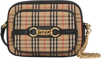 Burberry Vintage Check Link Crossbody Camera Bag