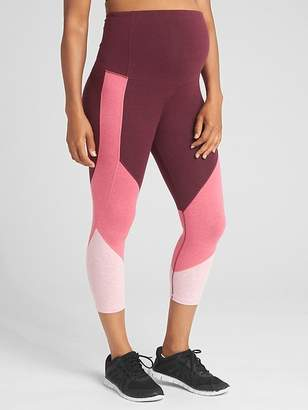 Gap Maternity GapFit Full Panel 7/8 Leggings in Performance Cotton