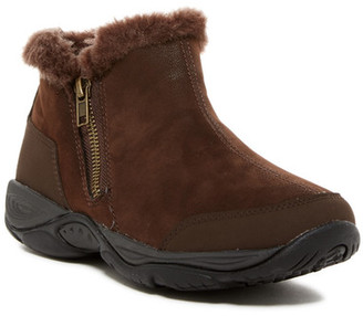 Easy Spirit Excellite Faux Fur Trim Ankle Boot $69 thestylecure.com