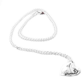 GUESS UBN81089 Women's Necklace 45 cm Silver-Plated Metal