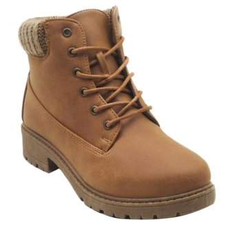 BLUE SUEDE SHOES Blue Yamari Synthetic Fall Boots for Womens Black and Tan