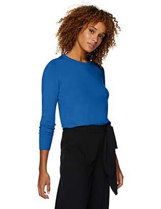 Lark & Ro Amazon Brand Women's Long Sleeve Crewneck Sweater