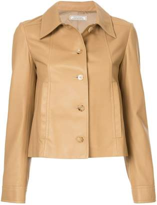 Nina Ricci fitted leather jacket