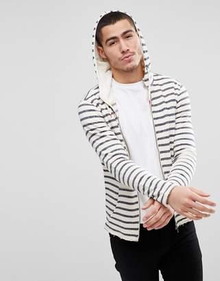 Solid Stripe Hoody