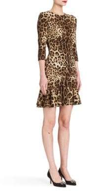 Dolce & Gabbana Leopard-Print Dress