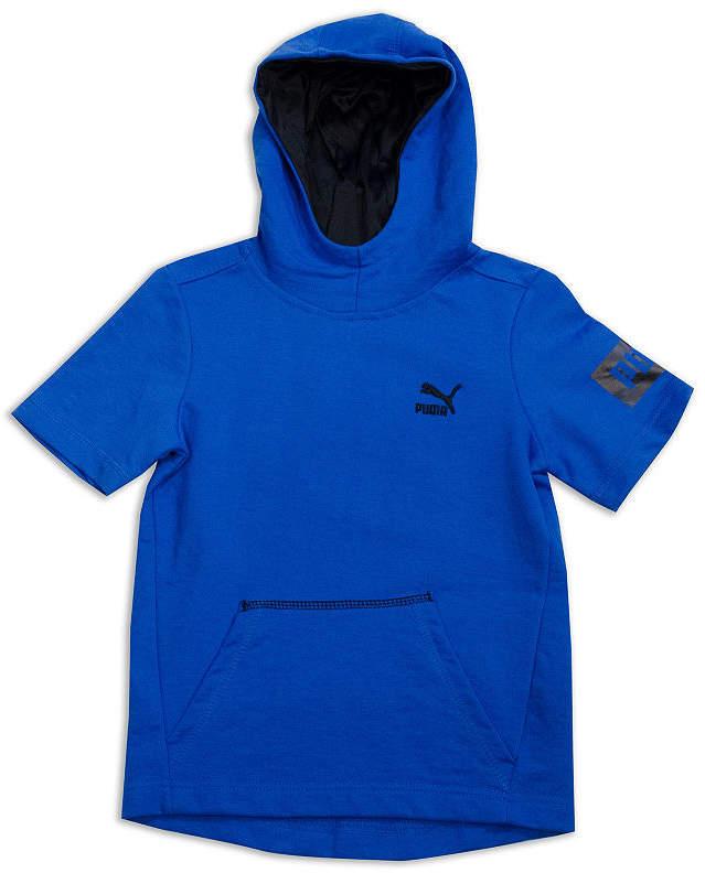 Short Sleeve Hoodie-Big Kid Boys