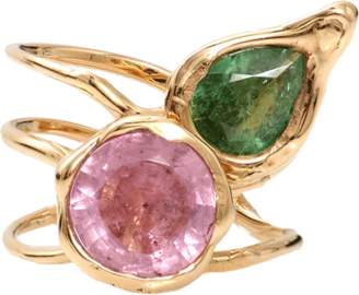 Lucifer Vir Honestus Tourmaline Primavera Ring