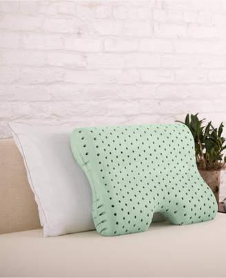 Authentic Comfort Closeout! Authentic Comfort Green Tea Memory Foam Contour Pillow