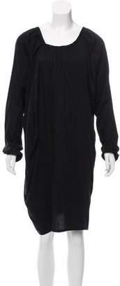 Ann Demeulemeester Long Sleeve Dress