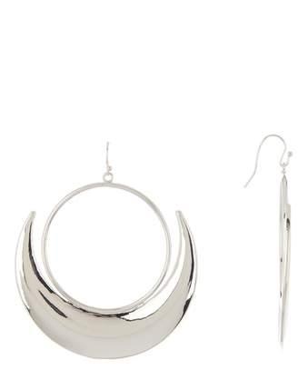 Jessica Simpson Crescent Hoop Earrings
