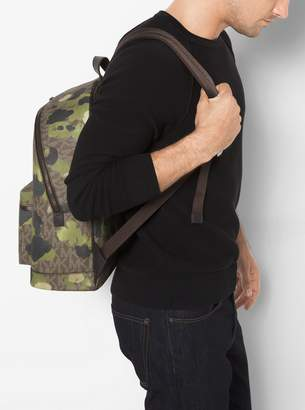Michael Kors Jet Set Painterly Camo Backpack