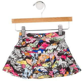 Kenzo Girls' Printed Flounce Skirt w/ Tags