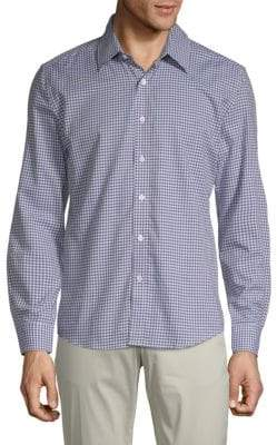 Hyden Yoo Gingham Cotton Button-Down Shirt