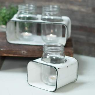 Gracie Oaks Cup Glass Votive Holder