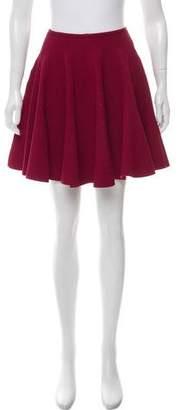 Alaia Flared Knit Skirt