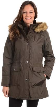 Fleet Street Women's Hooded Bonded Anorak Jacket