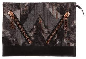 Kenzo Printed Oversize Clutch