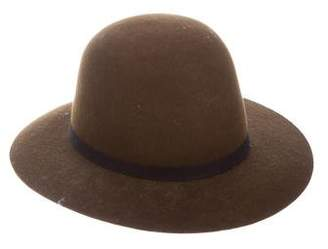 Humanoid Wool Trimmed Hat