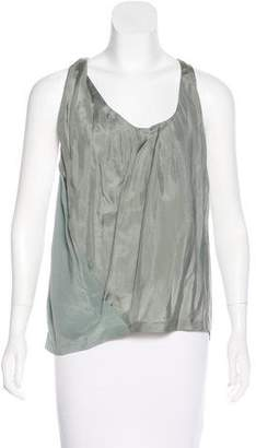 Acne Studios Sleeveless Silk Top w/ Tags