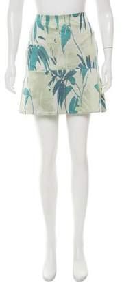 Jonathan Simkhai Patterned Mini Skirt