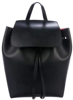 Mansur Gavriel Vegetable-Tanned Leather Backpack