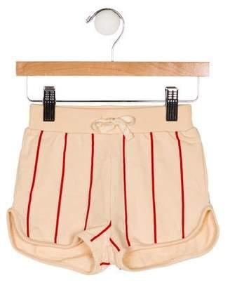 Mini Rodini Girls' Striped Shorts w/ Tags