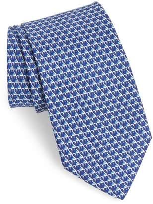 Salvatore Ferragamo Ester Print Silk Tie