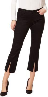 Dex Front Slit Kick-Flare Jeans