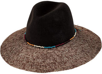 San Diego Hat Company Womens Pinched Wool Crown