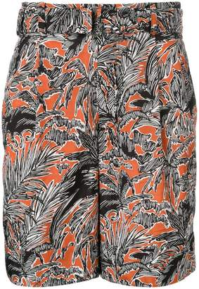 3.1 Phillip Lim palm trees print shorts