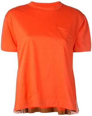 Sacai chest pocket T-shirt