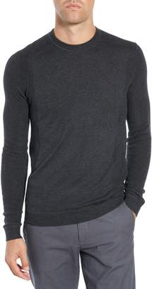 Ted Baker Reversy Slim Fit Crewneck Long Sleeve T-Shirt