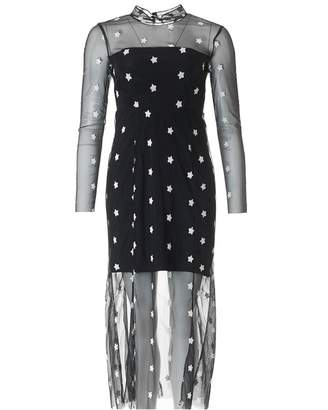 Little White Lies Alexandra Star Dress Colour: BLACK AND WHITE, Size: