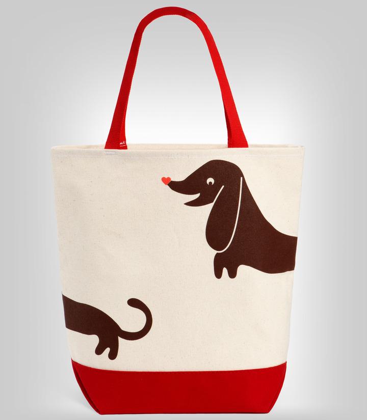 Fred Flare Hot Dog Tote Bag