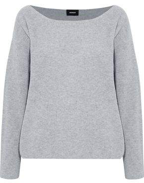 Monrow Ribbed Wool And Cashmere-blend Sweater