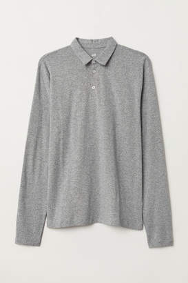 H&M Polo Shirt Regular fit - Gray