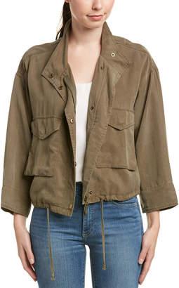 Splendid Cropped Military Jacket